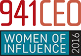 941CEO Women of Influence logo