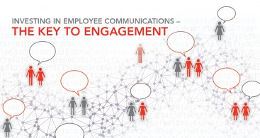 "Image of cover for DAI Whitepaper ""Investing in Employee Communications — The Key to Engagement"